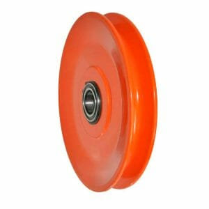 pulley for wire rope lifting applications