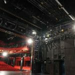 stage rigging pulleys