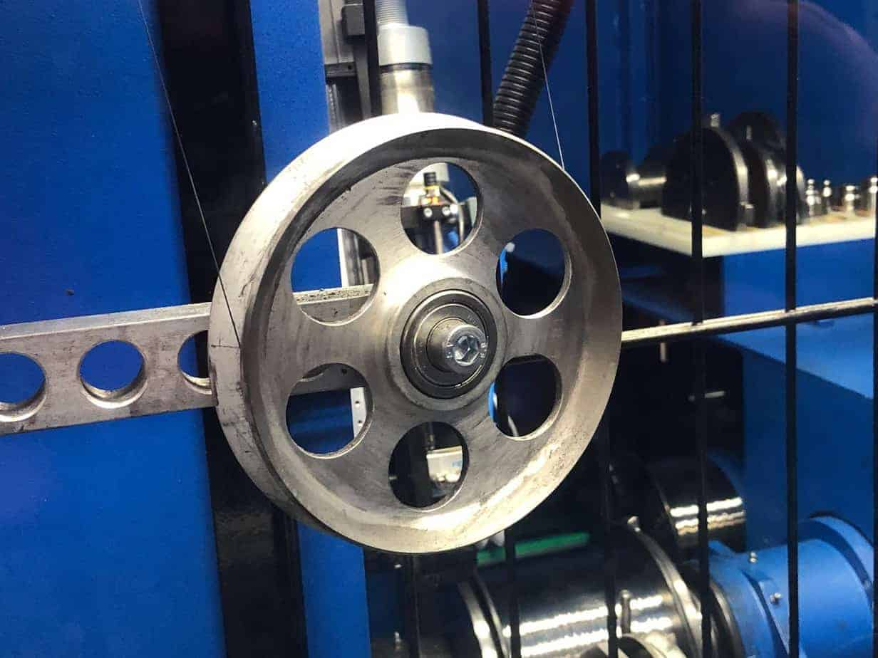 wire and cable processing pulley